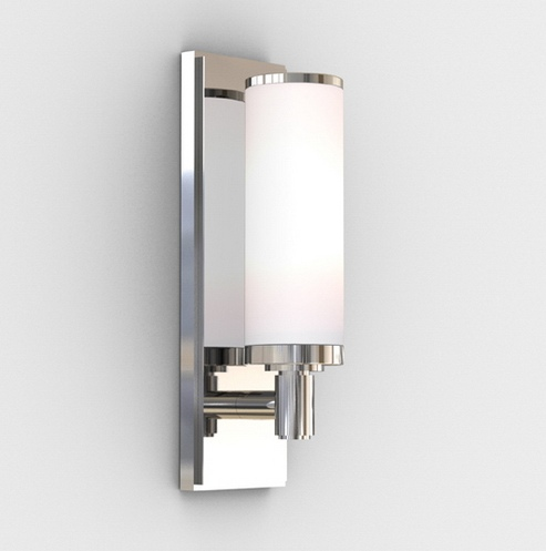 Polished Chrome Bathroom Wall Light