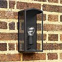 Simple Black Outdoor Wall Light H:320mm- Saving you �27.10
