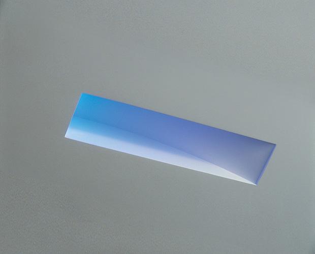 Recessed Plaster Step Light Slot