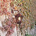 Copper & Glass Hanging Wall Lantern- Saving you �37.00