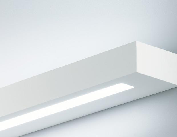 Linear Plaster Wall Light for T5 lamp