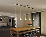 Advanced Track Pendant Biba - Frosted Glass- Saving you �21.60
