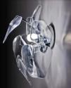 Acrylic 3D Effect Wall Light