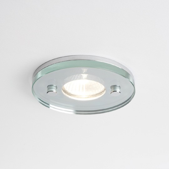 Round Glass IP65 Shower Downlight