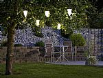 Stainless Steel Solar Lamp - Perfect for trees- Saving you �4.60