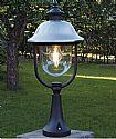 Matt Black Outdoor Post  Light- Saving you �9.80