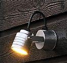 Adjustable Head LED Garden Wall Light