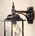 Leaded Glass Wall Lantern - down- Saving you �8.40