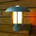 Modern Curvy Wall Lantern