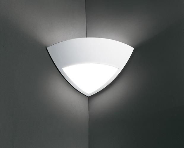 Corner Wall Light Fixture : Angle Plaster Corner Uplight