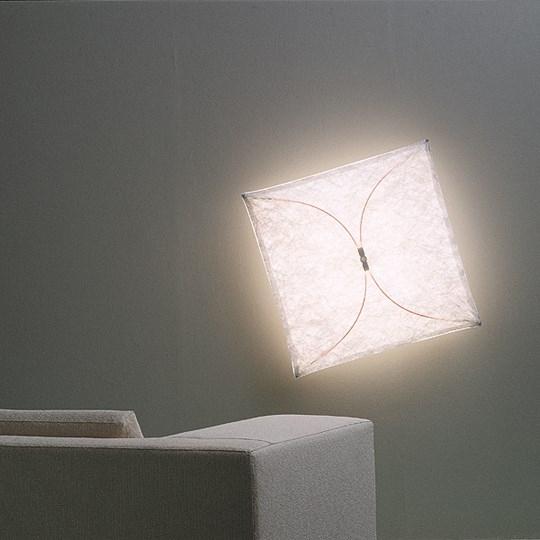 Modern Fabric Wall Lights : Ariette Fabric Wall Light by Flos
