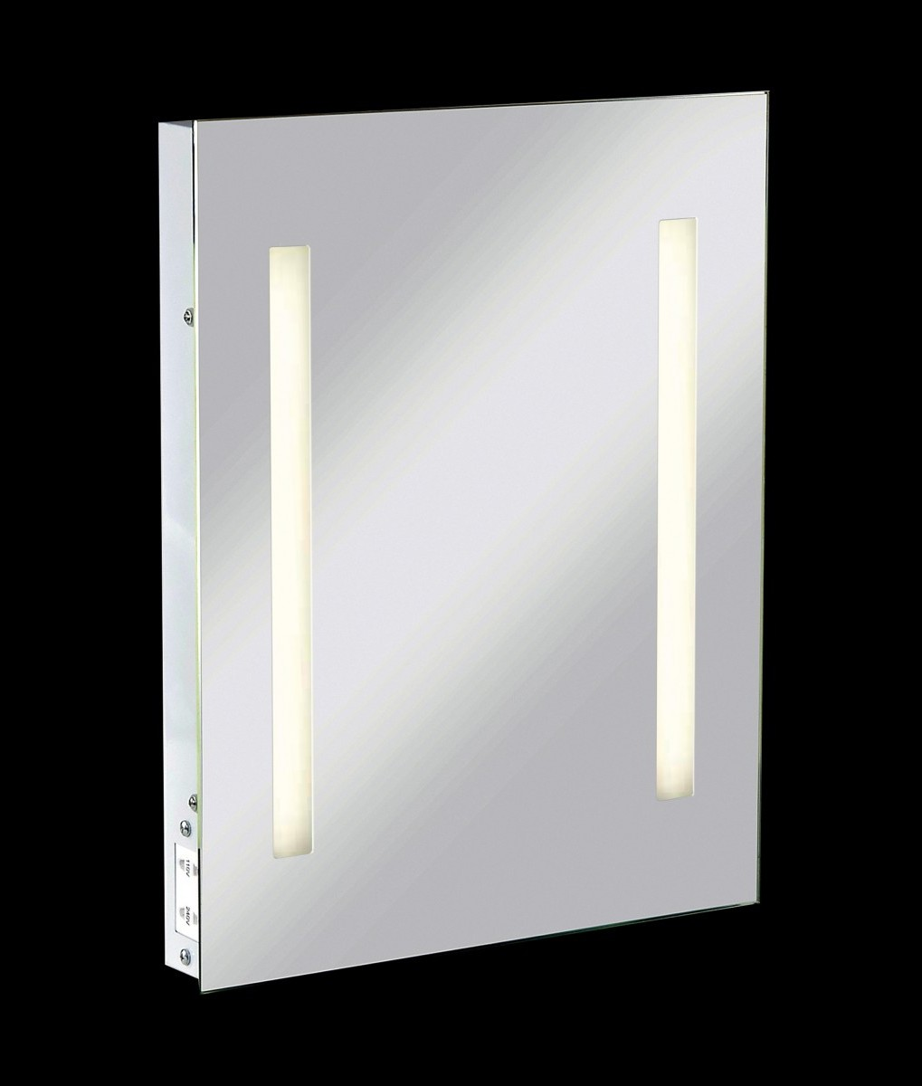Shallow Profile Illuminated Mirror