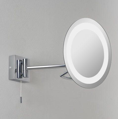 Vanity Mirror Halogen D 220mm