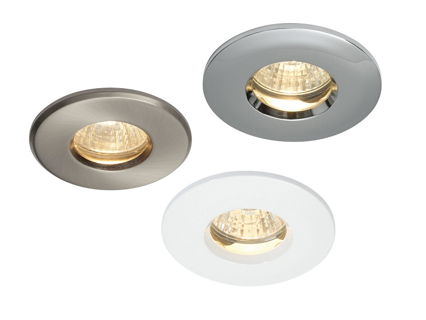 Two piece IP65 Mains Bathroom Downlight