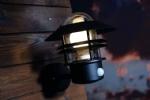 Scandinavian Louvre Design Light With PIR Sensor