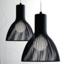 Steel Rod Light Pendant - 17cm or 26cm diameter