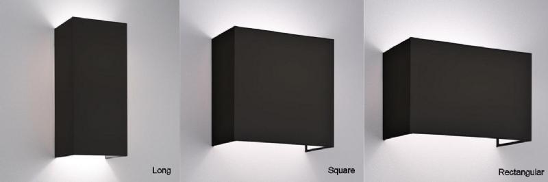 Interior Plain Fabric Wall Light