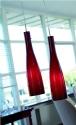 Stylish Glass Bottle Pendant - Small
