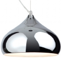 Chrome Metal Pendant Light