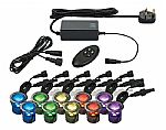 Colour Changing Ten Light LED Kit- Saving you �32.40