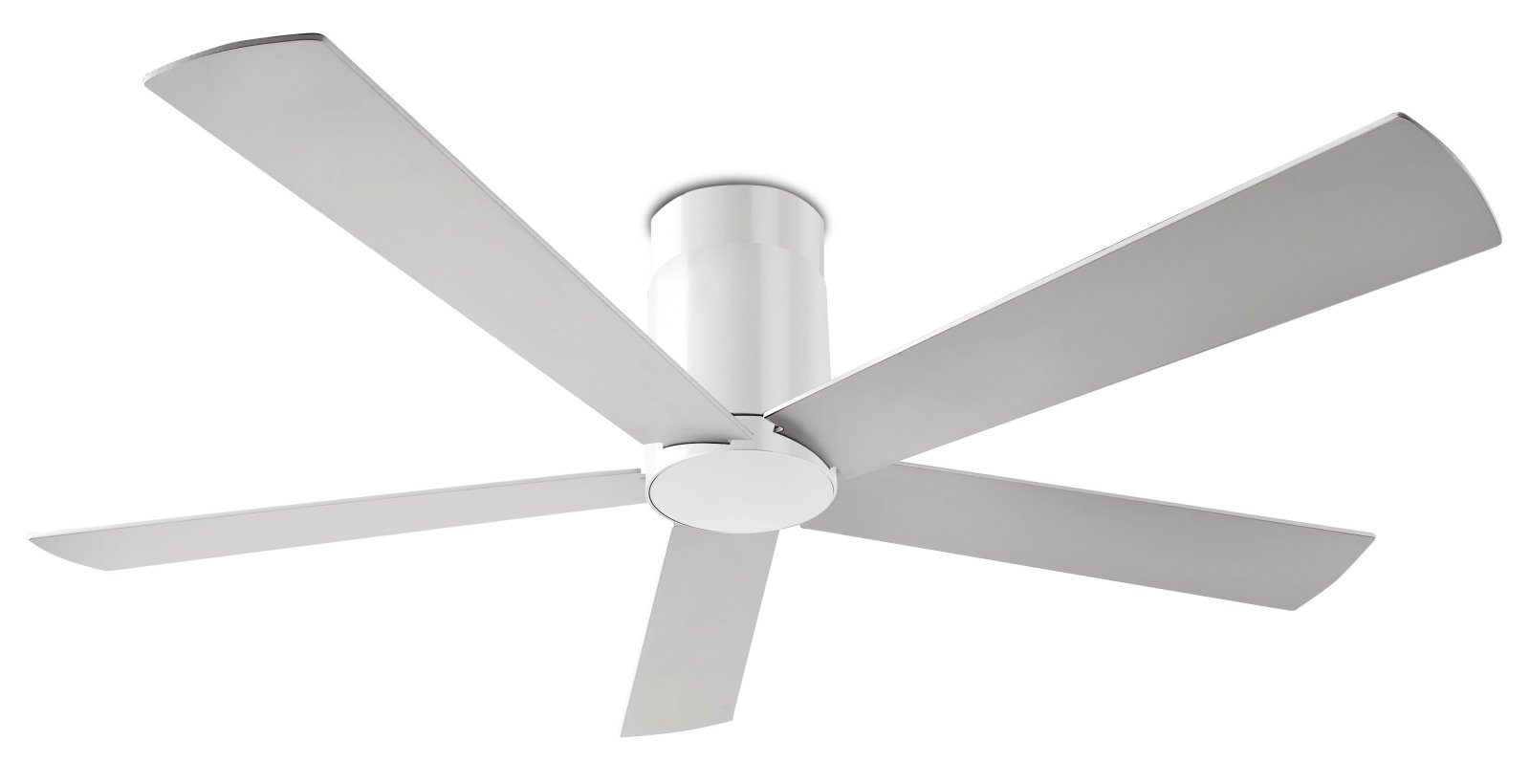 White or grey option ceiling fan - Modern white ceiling fan ...