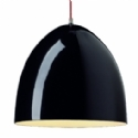 Cone Black or White Pendant Light