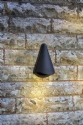 Conical Exterior Wall Light - Black- Saving you �23.00