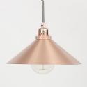 Copper Cone Shaded Designer Pendant