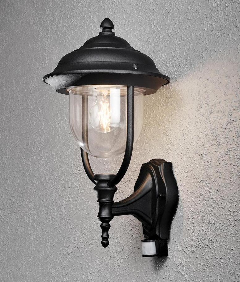 Covered Wall Lantern with PIR- Saving you �12.40