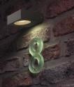 Small Square GX53 Exterior Wall Light