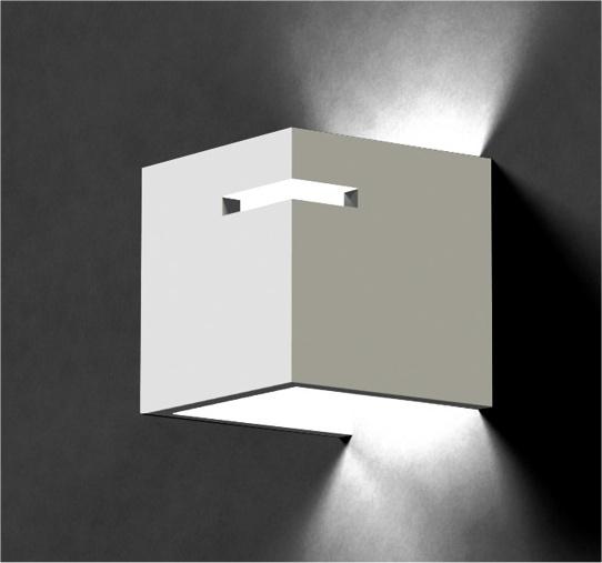 De Plaster Wall Light