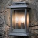 Double Lamp Wall Light - Smoked Earth- Saving you �16.00