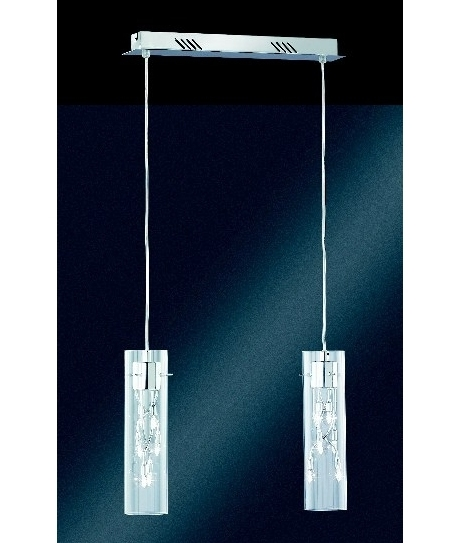 Double Chrome Halogen Pendant- Saving you �36.80