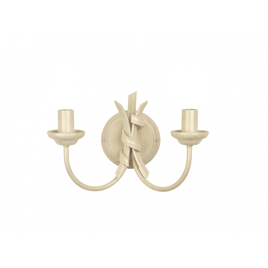 Ribbon Double Arm Wall Light