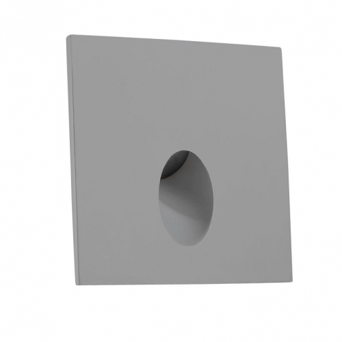 step recessed led wall light