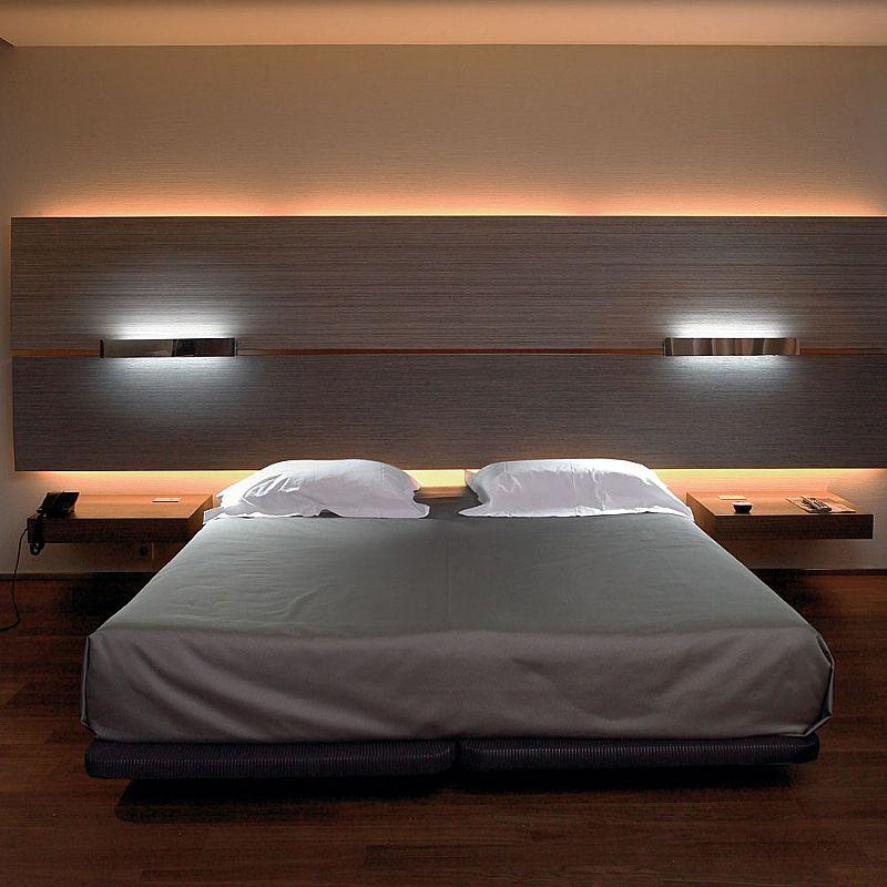 Прикроватные светильники для спальни фото
