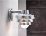 Exterior Tiered Wall Light - Downwards