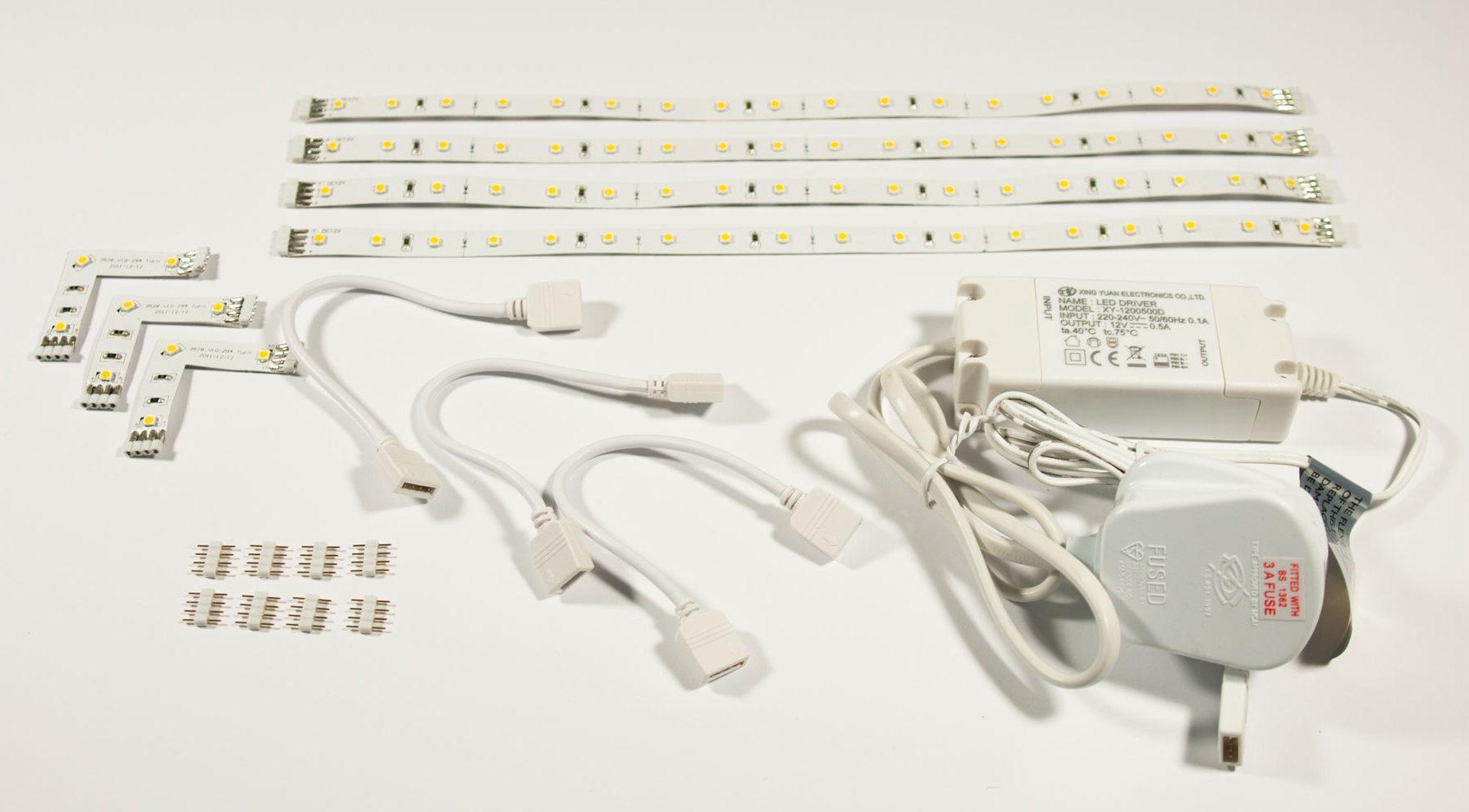 Flexible LED Tape Under Cabinet Lighting