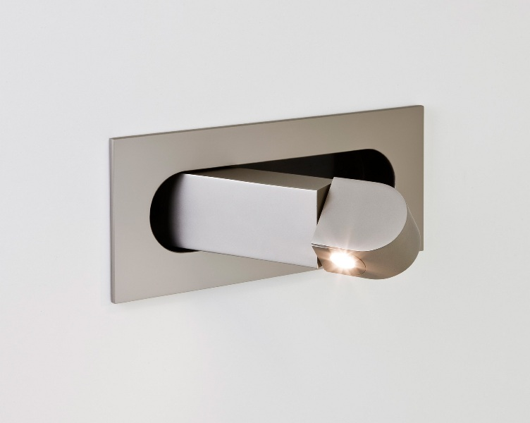 Wall Lamps For Bedside Reading : Flush LED Bedside Reading Light