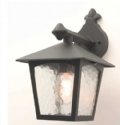 Black Finish Wall Lantern- Saving you �6.75