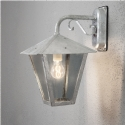 Galvanized Exterior Wall Lantern - Down