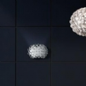 Acrylic Ball & Glass Shade Wall Light