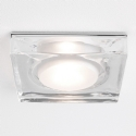 Large Square Glass Shower Light