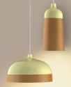 Glaze Cream & Copper Pendant by Innermost
