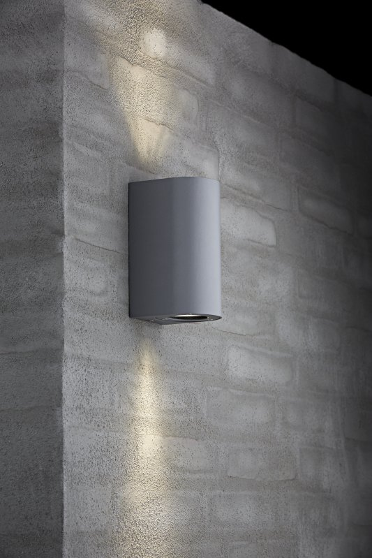 Exterior Gu10 Base Wall Light 5 Finishes