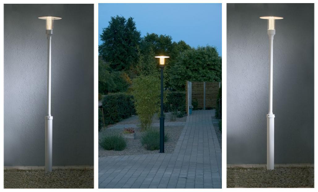 Exterior Lamp Posts 8 Foot Exterior Lamp Post with Decorative