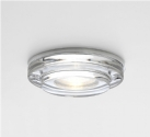 Round Chunky Glass Downlight IP65 Rated