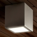 Simple Square Stainless Steel IP Rated Downlight