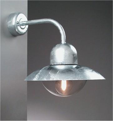 Galvanised Exterior Wall Light