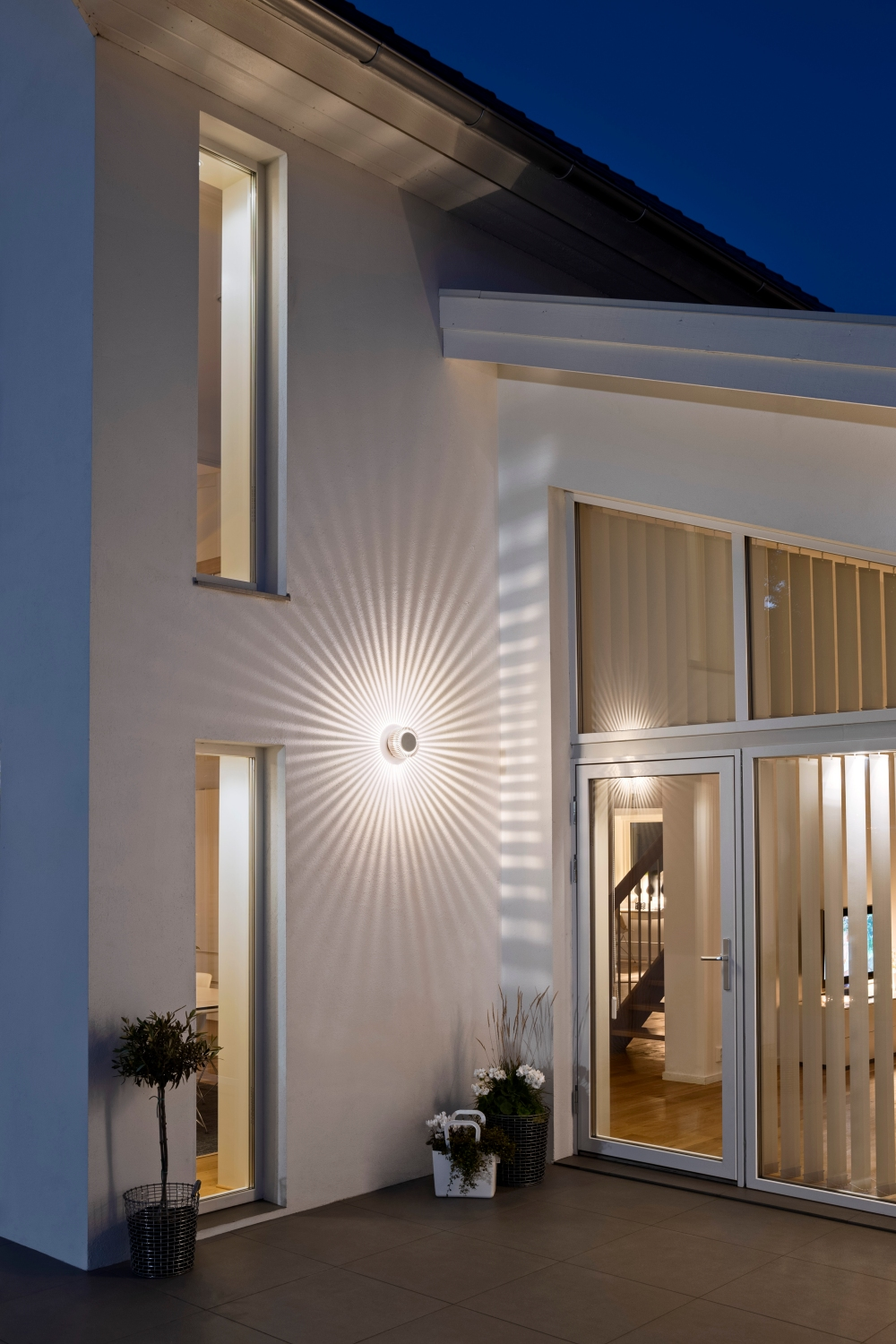 Round Led Decorative Exterior Light